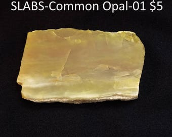 Common Yellow OPAL from Turkey