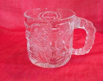 Vintage McDonalds mug with Two Face from Batman Forever