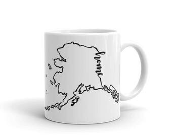 Alaska Home State - Coffee Mug