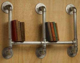 Industrial Plumbing Pipe Bookshelf