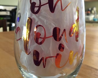 Stemless Wine Glass - On Cloud Wine
