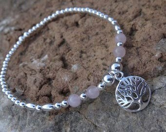 Tree of life stacking bracelet style options