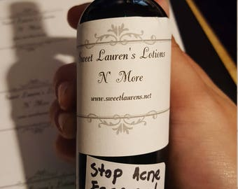 Stop acne face and back spray