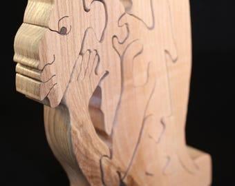 Wooden Gargoyle Puzzle