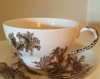 Old Mill Tea Cup