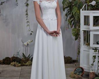 Wedding dress wedding dress bridal gown JOAN ivory