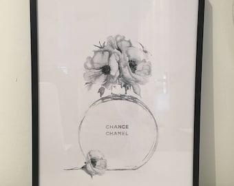 Chanel Chance print