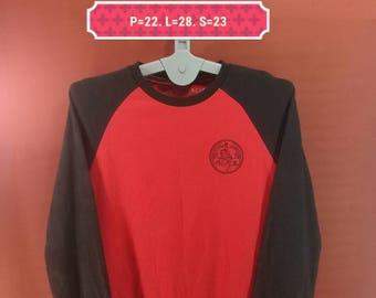 Vintage Evisu Sweatshirt Crewneck Shirts Red Black Cross Colour Size L Famous Japan Brand Adidas Sweatshirts Nike Sweatshirts Hip Hop Shirt