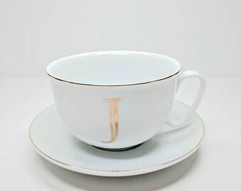 "Monogram ""J"" Cup"