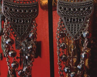 La Cruzada / The Crusade Earrings
