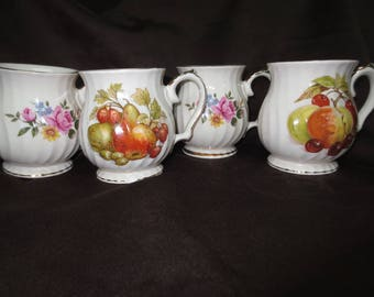 Sadler England Mugs - Lot of 4