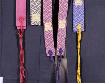 Silk brocade adornments