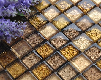 Adesivi per piastrelle mosaico etsy for Rivestimenti cucina adesivi
