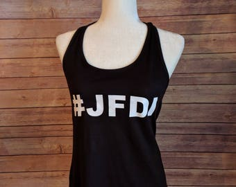 JFDI - Racerback Tank
