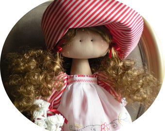 Dolls Handmade. Rag Doll. Fabric Doll