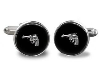Gun Tie Clip Etsy