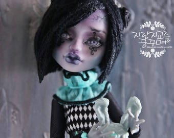 SOLDout]OOAK-Monster-high-doll-Monster-high-doll-repaint-Monster-high-custom