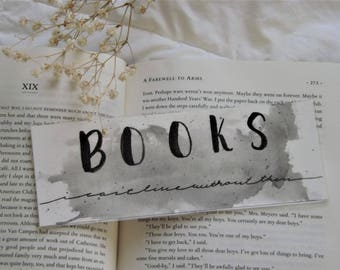 Books (I Can't Live Without Them)