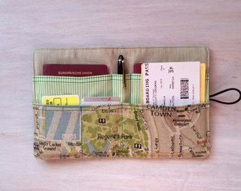 "Passport holder ""CA25 Dortz"" design, passport cover"