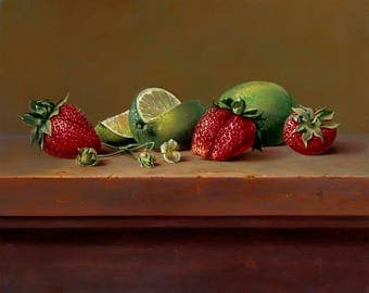 Strawberries & Limes