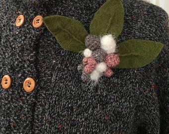 1940s inspired handmade buttonhole
