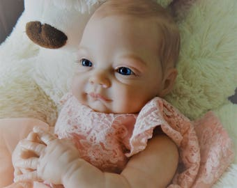 Baby Natalie - Completed Reborn baby doll for sale! Ready to ship from Canada