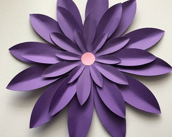 Purple Wall Flower
