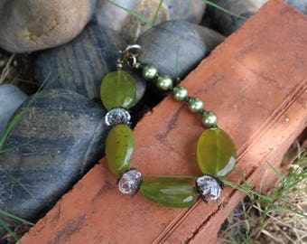 Korean Jade Beaded Bracelet