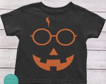 Harry Potter Halloween Kids Shirt, Toddlers Halloween Shirt, Kids Halloween Shirt, Harry Potter Shirt, Trick or Treat, Pumpkin shirt
