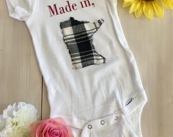 Made in MN Onesie