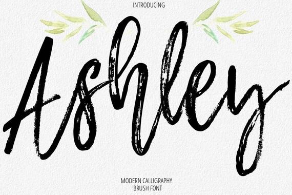 Digital Font Calligraphy Handwritten Script Wedding