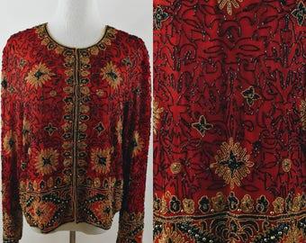 Gorgeous Vintage Papell Boutique Jacket