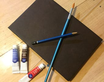 Artisan Artbook, watercolor, pencil and markers