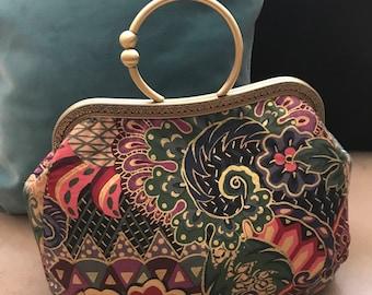 Hand made one of a kind Asian inspired handbag