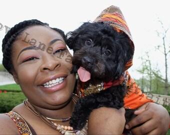 Dashiki Dog Hoodie