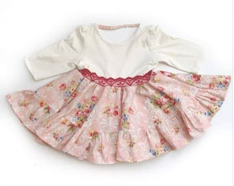 Valentine's Day Dress | Baby Dress | Toddler Dress | Pink Dress