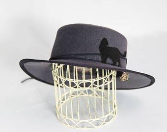 Cat Silhouette Hat