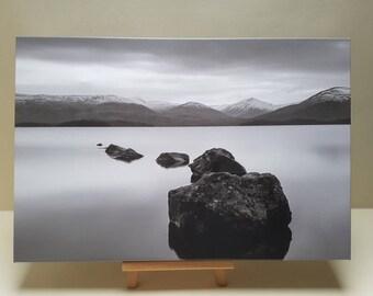 "Distant printed canvas gift loch lomond 24""x16"""