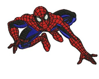 Spiderman Embroidery Design, Avengers Embroidery Design, Marvel Embroidery Design, Comic Design, Boy Embroidery Design, 4x4 6x6 Hoop 2 Sizes