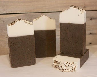 Coffee Lovers - Exfoliating - Handmade Soap