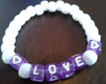 Love Beaded Bracelets