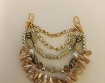 Sand & SeaShells Chain Charm