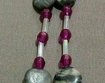 Picture Jasper Multi-Gemstone Necklace