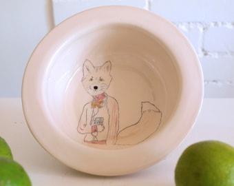 Fleek fox porridge breakfast bowl