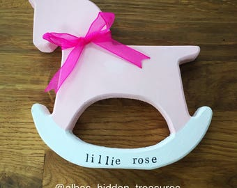 Personalised Handcrafted Rocking Horses