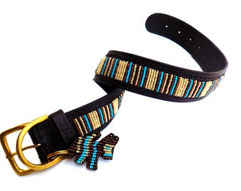 Blue Nile Dog Collar