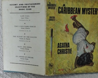 Agatha Christie A Caribbean Mystery  1964 Crime Book Club copy hardback dustcover