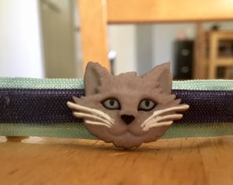 Gorgeous Handmade Kitty Cat Barrettes!