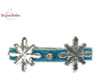 Frozen Barrette / Queen Elsa / Princess Anna / Frozen Birthday