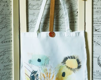 Shopper bag flowers
